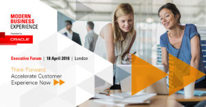 Oracle Modern Business Experience London 2018
