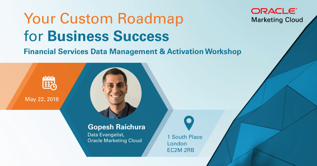 Financial Services Workshop | 22nd May 2018 | Roadmap For Business Success